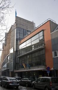 former printing house 'Le Peuple', Brussels © DOCOMOMO Belgium