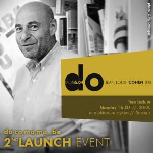 2nd Launch Event of DOCOMOMO Belgium