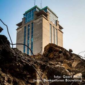 Boekentoren Bouwblog (picture by: Geert Roels)