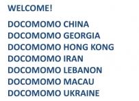 DOCOMOMO New Chapters