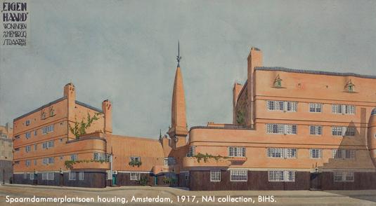 Flickr-Commons-NAI_spaarndammerplantsoen-housing-amsterdam-1917