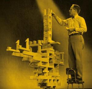 Elliot Noyes lectures for 'Omnibus' documentary, 1955