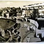 Collage réalisé aux fins de la propagande nazie montrant le Weissenhof de Mies van der Rohe envahi de bédouins copyright DR