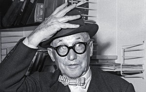 Swiss-French architect Charles-Edouard Jeanneret, better known as Le Corbusier, Photo: STFHO/AFP/Getty Images