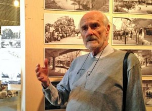 © Marie-Douce Albert/Le Moniteur - Le 2 juin 2015, à la Cité de l'architecture et du patrimoine, l'architecte Lucien Kroll a présenté l'exposition consacrée au travail qu'il a mené avec son épouse Simone Kroll.
