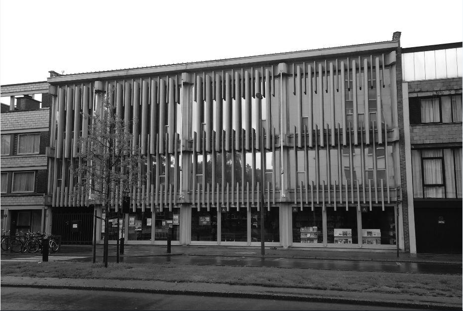 Exterieur bibliotheek Ter Couwelaar, (2014, © Els De Vos)