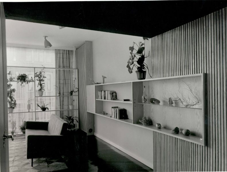 Interieur Woning Fischler (1956, © A De Belder)