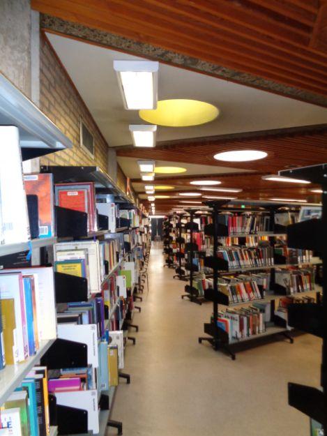 Interieur bibliotheek Ter Couwelaar, (2015, © Els De Vos)