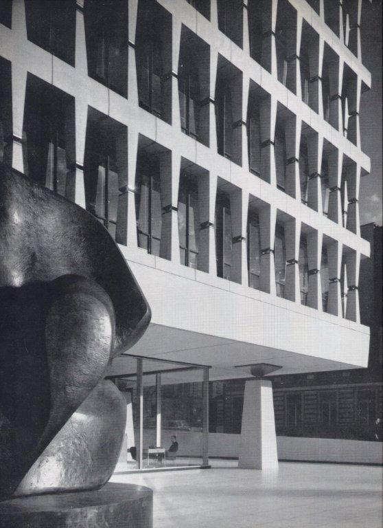 Banque Lambert Brussel, architect Gordon Bunshaft