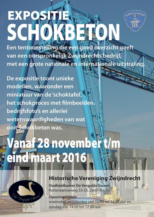 Poster Schokbeton expo 2015-2016