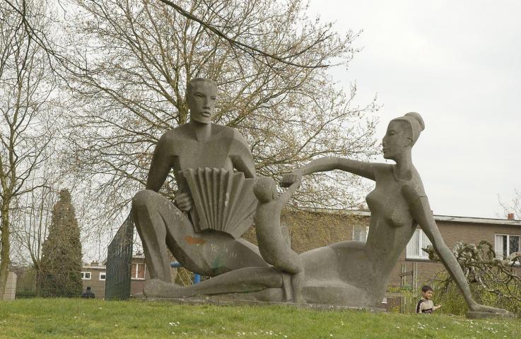 20160315 Monumentale kunst in de sociale woningbouw na WOII 1945-1985