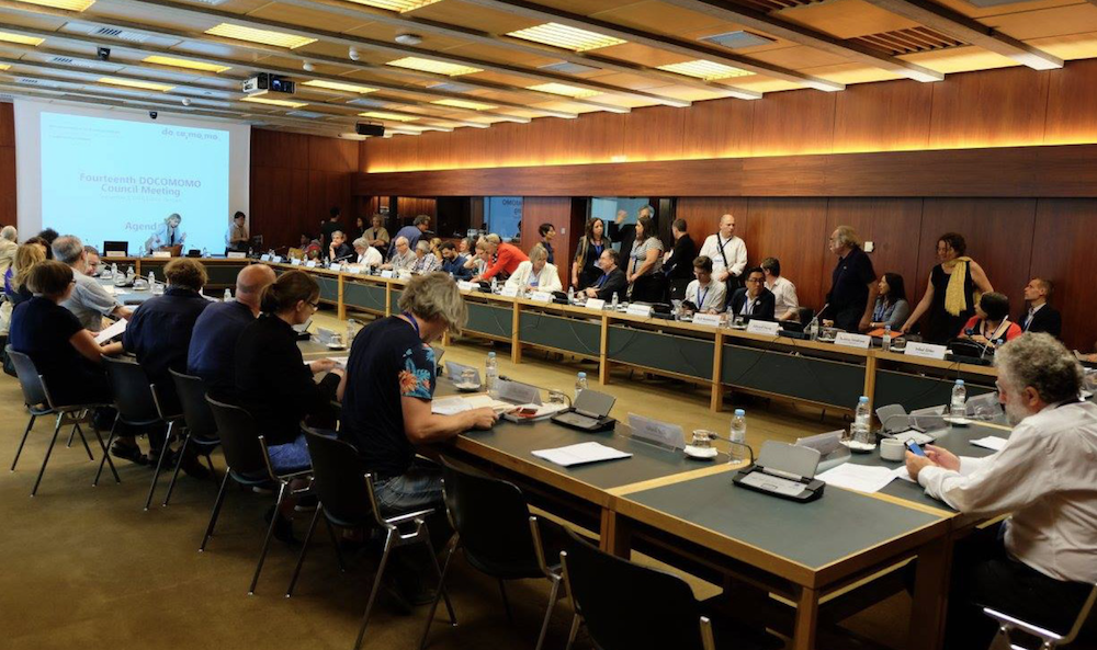14th Docomomo Council Meeting, Lisbon 2016