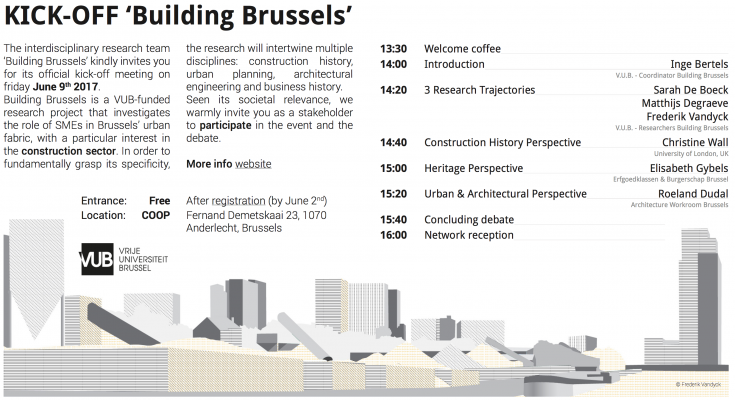 Building Brussels Is A VUB Funded Research Project That Investigates The  Role Of SMEs In Brusselsu0027 Urban Fabric, With A Particular Interest In The  ...