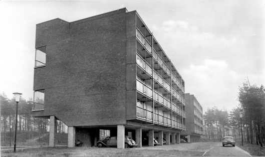 studio building by architects Coulon & Noterman, 1957 © atoomdorp.be