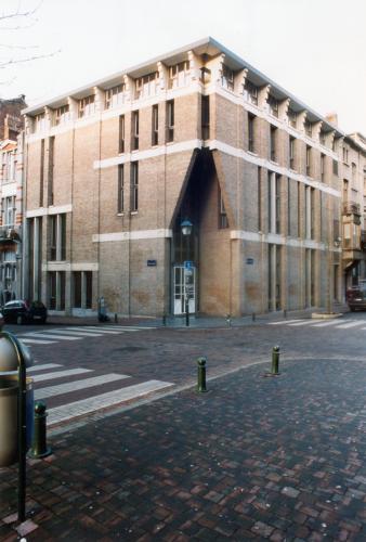 l'Institut Saint-Luc à Saint-Gilles (1985)