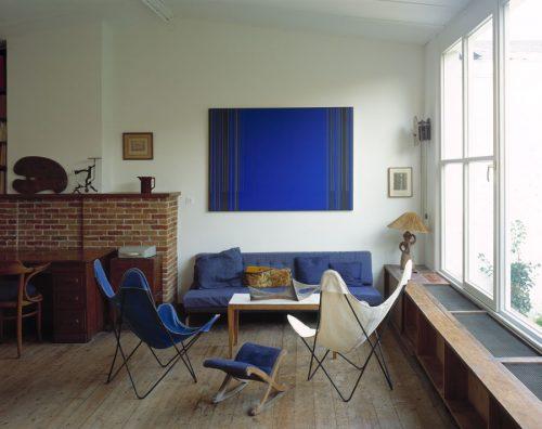 Het atelier van Luc Peire (1947), Foto: Kristien Daem