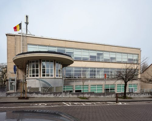 RTT gebouw in Watermaal-Bosvoorde, architect Gaston Brunfaut, 1950-1955. (Foto © Karin Borghouts & Proximus)