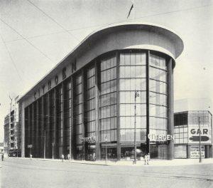 Place de l'Yser 7, Bruxelles, Citroën © Dumont, 1939