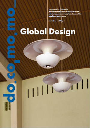 Docomomo Journal 47 (2012/2) studies the Modern interior space and furniture