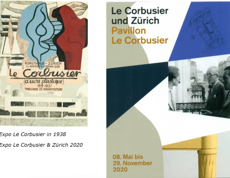 Expo Le Corbusier in 1938 Expo Le Corbusier & Zürich 2020